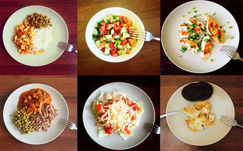Порции при диете