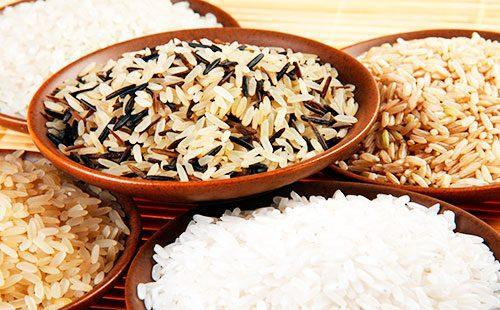 Разные виды риса