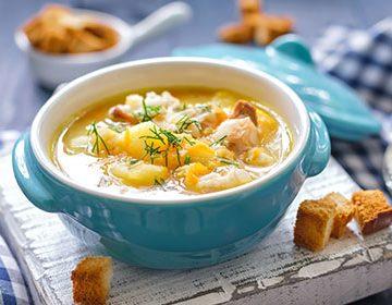 как приготовить протертые супы рецепты после операции на желудке
