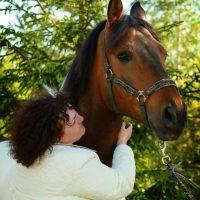 Портрет с красавицей-лошадью