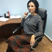 Ольга на рабочем месте