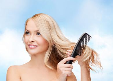 Маска для роста волос сконьяком: кому помогает икак применять втечение месяца