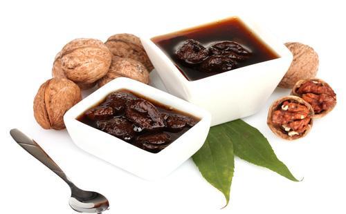 Варенье из грецких орехов в пиахах