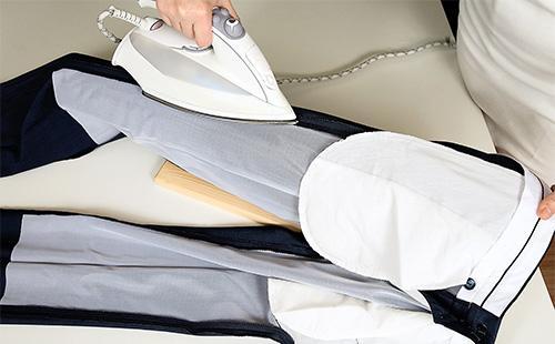 Глажка брюк с изнанки