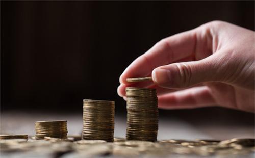 Стопочки из монет
