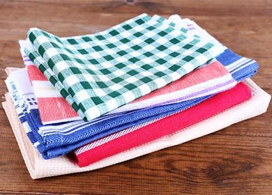 Чем отстирать кухонные полотенца отжира идругих специфических пятен: традиционные иоригинальные способы реанимировать текстиль