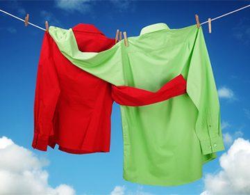 Как отстирать ржавчину с одежды из белой и цветной ткани в домашних условиях
