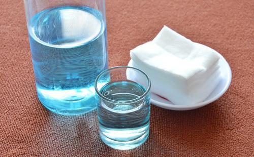 Перекись водорода и салфетки