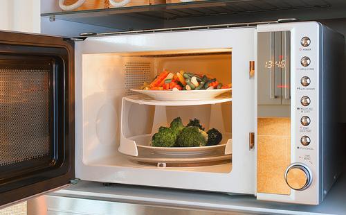 Открытая микроволновая печь