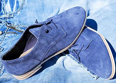 Голубые туфли из песни Элвиса Пресли