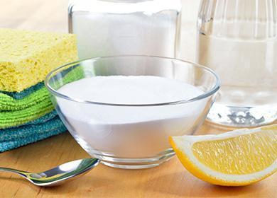 Сода в пиале