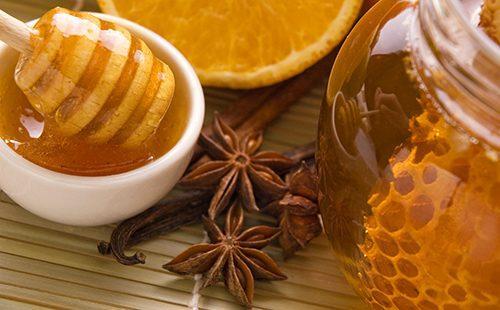 Свежий мёд и корица