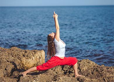 Йога на камнях