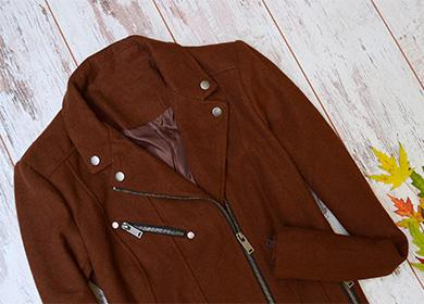 Коричневое пальто