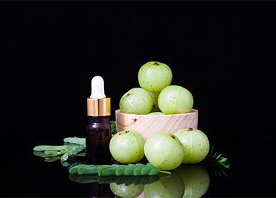 Масло амлы и плоды