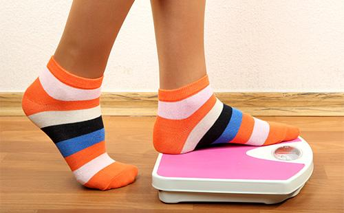 Ноги на весах