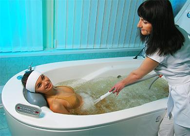 Гидромассаж в ванной