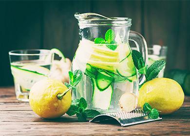 Вода Сасси: рецепт для похудения и диеты