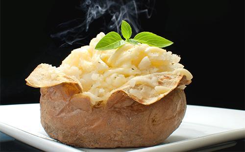Вареный картофель в шкарлупе