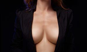 Тянут грудь видео