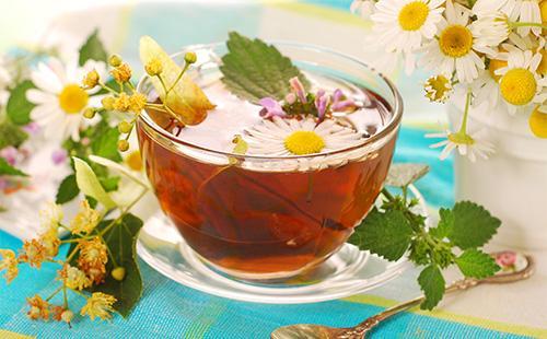 Чай с крапивой и липой