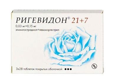 Рисунок голубой розы на коробке