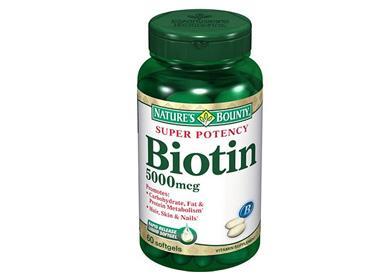 Банка с биотином