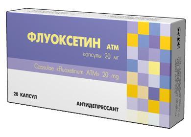 Упаковка Флукосетина