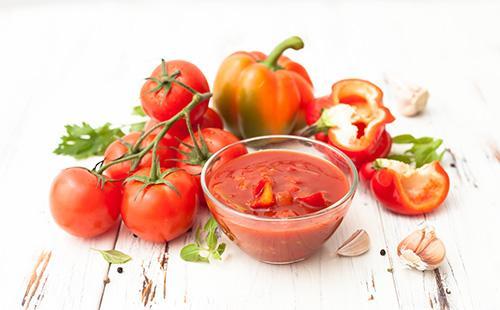 Кетчуп с овощами