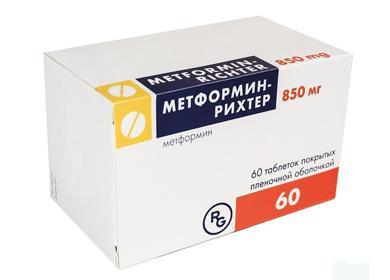 Упаковка Метформина