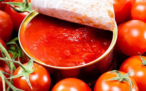 Консерва с помидорами