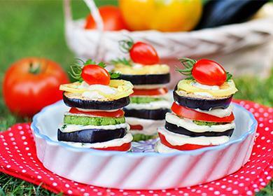 Сендвичи из баклажан