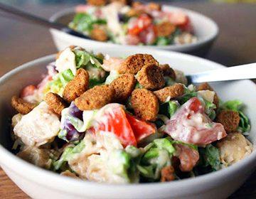 салат с курицей грибами и фасолью рецепт с фото