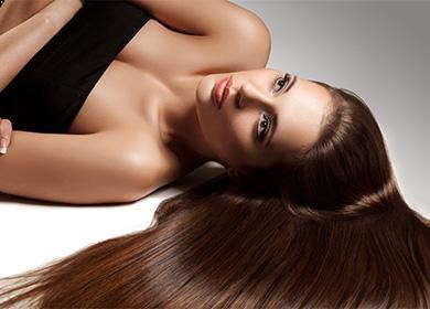 Девушка с длинными волосами