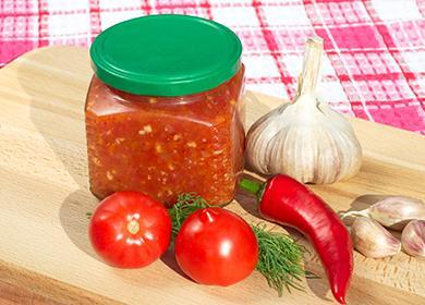 Аджика изпомидоров: рецепты, икак подобрать вкус под настроение