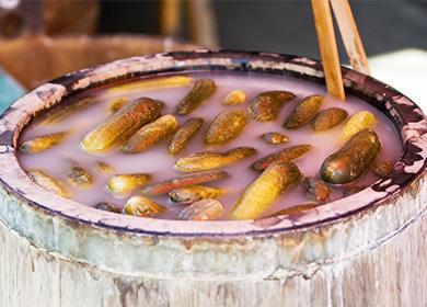 Рецепт засолки огурцов на зиму 🥝 соленые огурцы в бочке