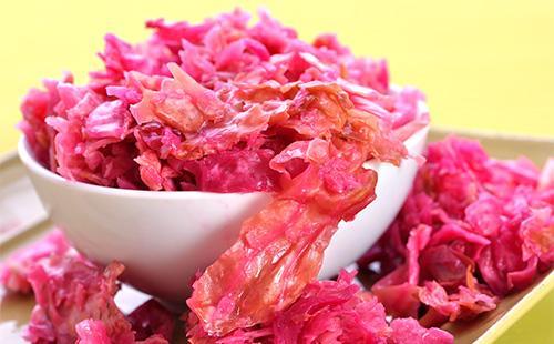 Капуста по-корейски розовая