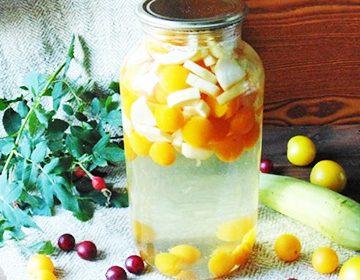 рецепт компот из кабачков
