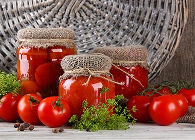 Помидоры без стерилизации назиму: консервация без лишних хлопот испособ приготовить «томатное варенье»