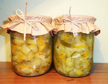 салат нежинский скапустой рецепты консервирование