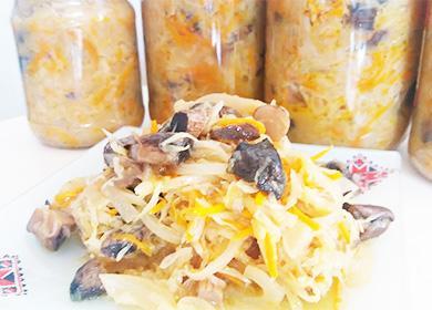Рецепт солянки (селянки) сгрибами икапустой назиму: как приготовить ароматный гарнир, заправку для супа иидеальную закуску под одной крышкой
