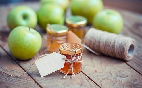 Варенье из зеленых яблок