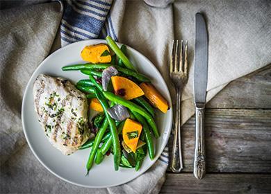 Мысо с овощами