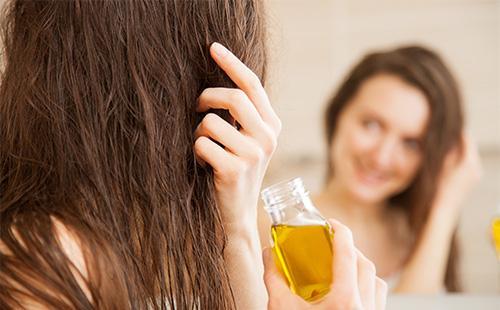 Маска для волос из масла бей