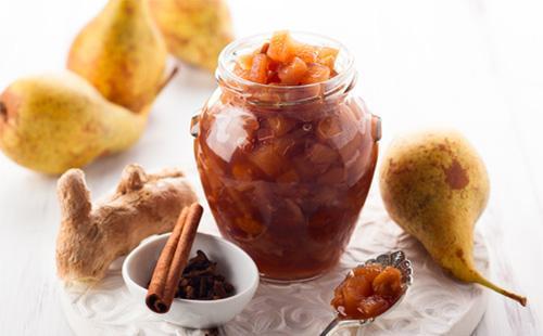 Варенье из груш и корицы