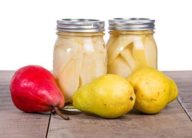 Груши всиропе назиму: приготовление сахарного, карамельного, медового лакомства целиком идольками