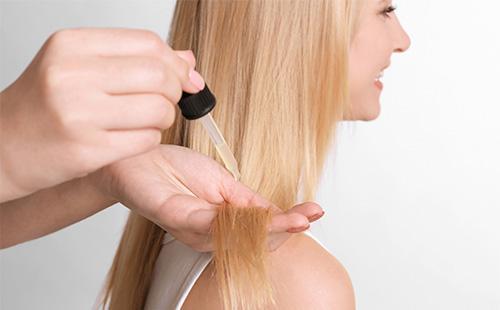 Масло для увлажнения волос
