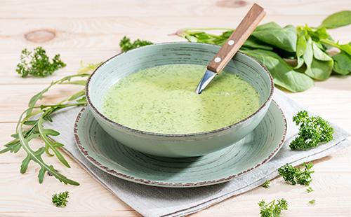 Суп-пюре из зелени