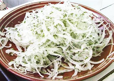 Маринованный лук: рецепты для рыбы, мяса, салатов ибутербродов, суксусом ибез