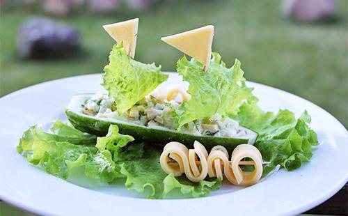 Салат с сыром